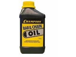 Масло CHAMPION адгезионное для смазки цепи и шины ( 1л), 952824