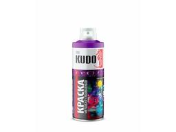 Эмаль флуоресцентная голубая 520мл KUDO