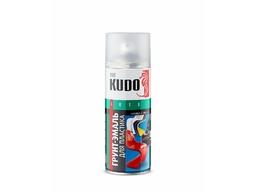 Грунт-эмаль для пластика черная 520мл KUDO