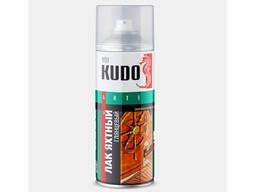 Лак яхтный глянцевый 520мл KUDO