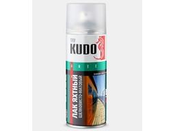 Лак яхтный шелковисто-матовый 520мл KUDO NEW