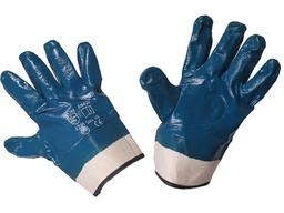 Перчатки нитриловые, манжет крага