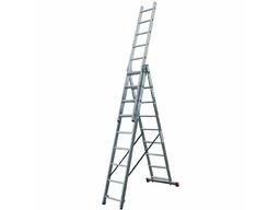 Лестница трёхсекционная 3х9 Corda KRAUSE 010391