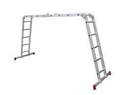 Лестница четырёхсекционная шарнирная KRAUSE Multimatic 4х5 Corda 085078