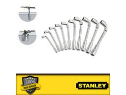 Набор гаечных трубчатых Г-образных ключей 10шт STANLEY