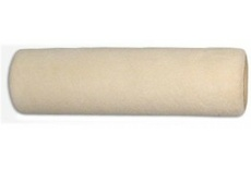 Валик каркас 38мм, велюр ткан. шерсть 100 % беж. 180мм, ворс 4мм, 770гр/м2