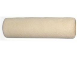 Валик каркас 38мм, велюр ткан. шерсть 100 % беж. 230мм, ворс 4мм, 770гр/м2