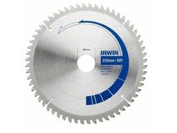 Дисковая пила по алюминию IRWIN 210mmT60F31