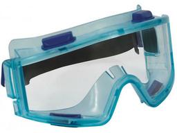 Очки защитные панорамные (бирюзовые FIT)