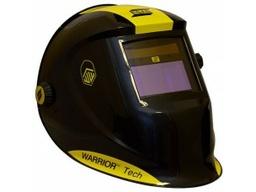 Маска сварщика черная WARRIOR Tech Yellow