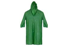 Дождевик из EVA , износоустойчивый, зелёный, с застежками