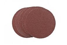 Круги шлифовальные (липучка), алюминий-оксидные, 150 мм (5 шт) Р 150