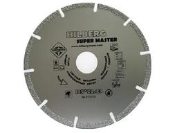 Диск алмазный 125 мм/2 мм по металлу, кирпичу и пластику HILBERG