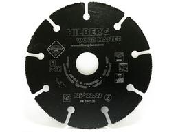 Диск сегментный 125 мм/1,8 мм SUPER WOOD по дереву HILBERG