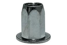 Заклёпка HARPOON шестигр. Ст. М5 резьбовая HEX1-CB-S цил. бортик, перв. длина