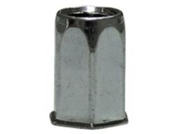 Заклёпка HARPOON шестигр. Ст. М5 резьбовая HEX1-UB-S уменьш. бортик, перв. длина
