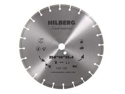 Диск алмазный 350*25,4*12 сегментный по арм.бетону HILBERG