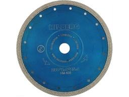 Диск алмазный 230 мм турбо по керамике и керамограниту HILBERG 2,0 мм