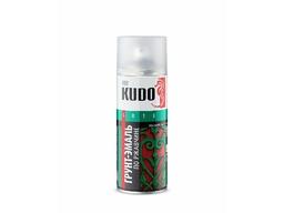 Аэрозоль KUDO грунт-эмаль по ржавчине серая (RAL 7042) 520мл