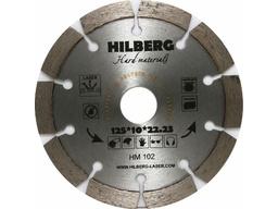 Диск алмазный 125мм сегментный по арм.бетону HILBERG