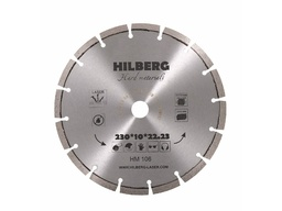 Диск алмазный сегментный по арм.бетону 230мм HILBERG