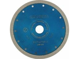 Диск алмазный 180 мм турбо по керамике и керамограниту HILBERG 1,5 мм