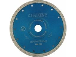 Диск алмазный 200 мм турбо по керамограниту HILBERG 1,7 мм Х-тип