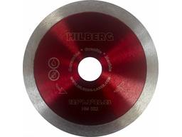 Диск алмазный отрезной 125мм сплошной ультратонкий HILBERG