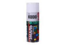 Эмаль RAL 9003 сигнальная белая 520мл KUDO