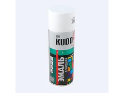 Эмаль белая глянцевая 520мл KUDO