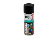 Эмаль черная глянцевая 520мл KUDO