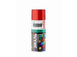 Эмаль красная 520мл KUDO