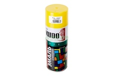 Эмаль желтая 520мл KUDO