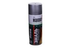 Эмаль термостойкая серебристая 520мл KUDO