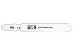 Пилки для лобзика MG 11 bi WILPU (цена за пачку)