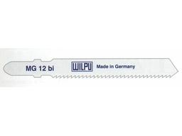 Пилки для лобзика MG 12 bi WILPU (цена за пачку)